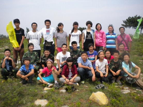 2012蓝天心理成长夏令营拓展活动